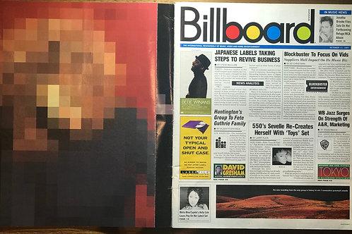 JANET JACKSON Velvet Rope Album Release Special BILLBOARD MAGAZINE