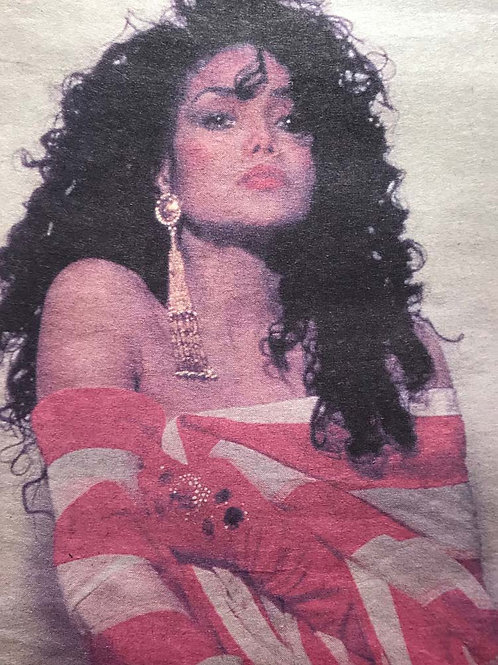 LaToya JACKSON Daily Mirror UK Newspaper Article Dec 1990