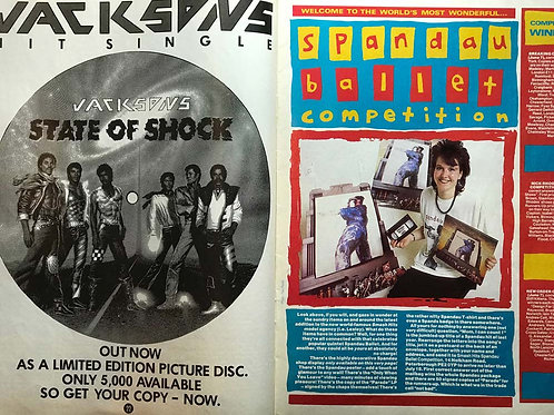 1984 SMASH HITS 19 JULY MICHAEL JACKSONS NICK HEYWARD EVERYTHING BUT THE GIRL