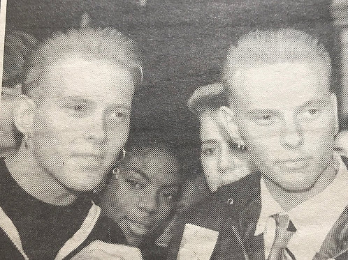 British Newspaper Article featuring BROS Libel Win 1990