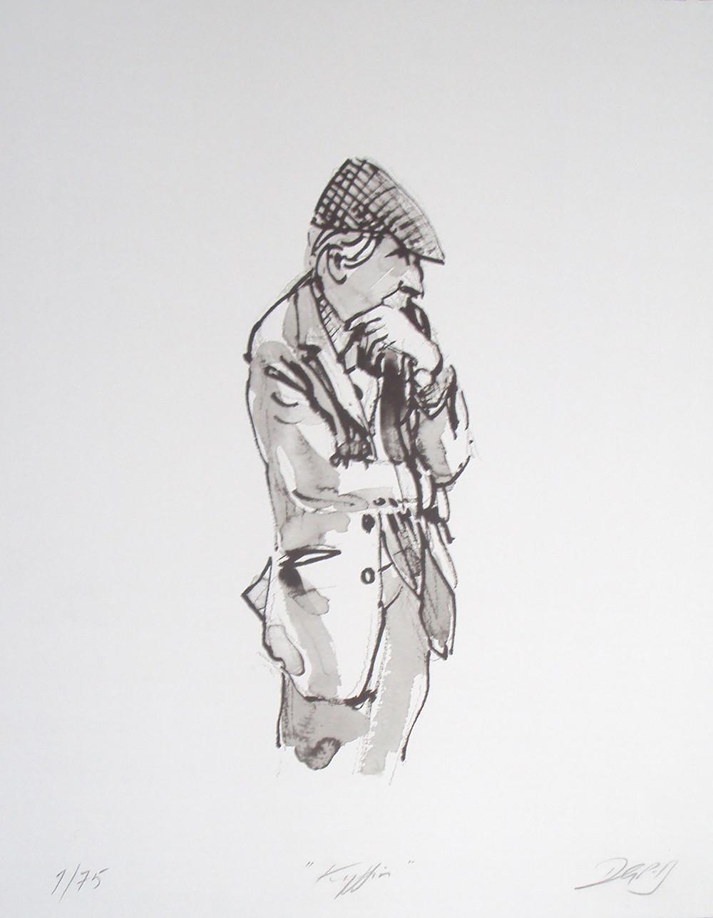 'Sir Kyffin Williams' by David Porteous-Butler