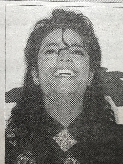 1989 April 14 'Jackson Waste of £7m' DAILY MAIL Newspaper MICHAEL JACKSON
