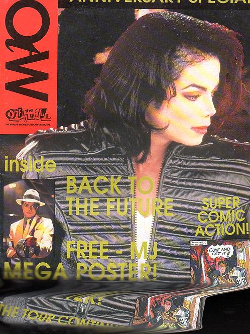 1993 #22 OFF THE WALL UK MAGAZINE + flyer MICHAEL JACKSON