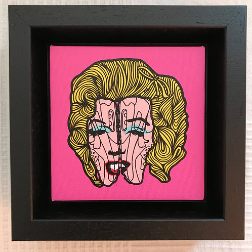 'Marilyn in the 90's' by PINS artist London