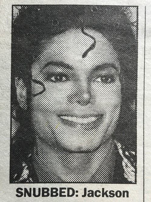 1990 June 6 'Bush Is Tonic For Jackson' MICHAEL JACKSON TODAY Newspaper