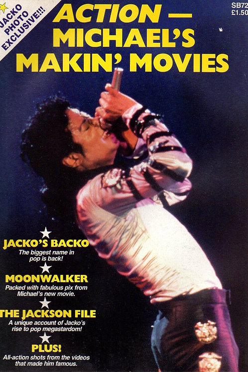1989 ACTION - MICHAEL'S MAKIN' MOVIES Collector's Magazine UK