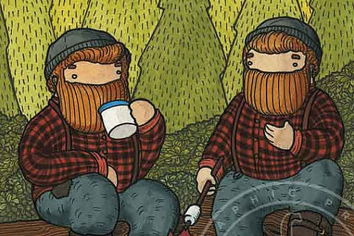 'That Time...' Beardy Bears by NAKI
