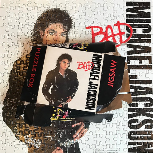 Michael Jackson BAD Jigsaw Puzzle