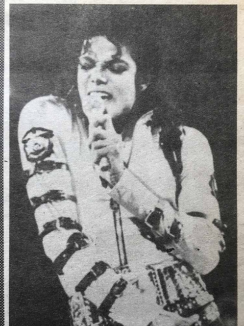 1991 March 27 DAILY MIRROR News Article feat. MICHAEL JACKSON