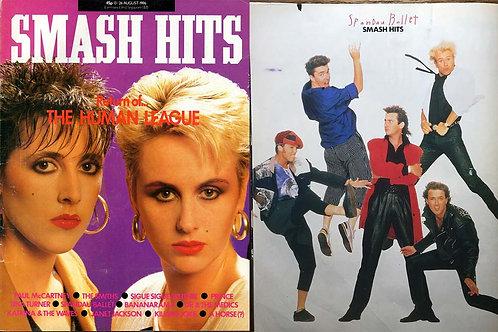 Smash Hits Magazine 13th August 1986 The Human League