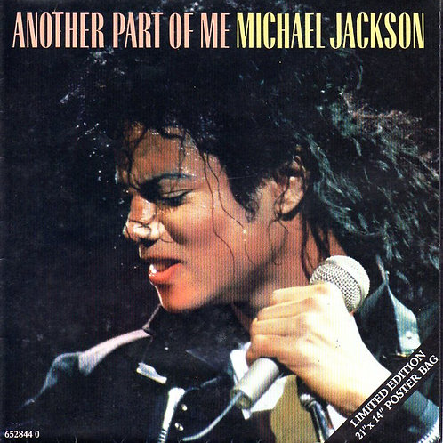 "1988 'Another Part Of Me' 7"" Vinyl Limited Edition MICHAEL JACKSON"