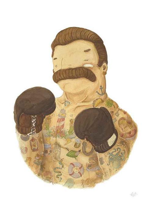 'El Boxeador' (boxer) by NAKI