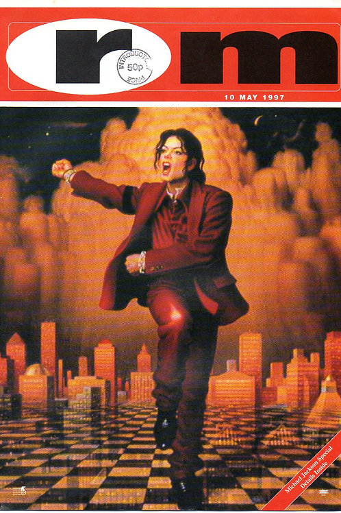 1997 May 10 RM Magazine UK MICHAEL JACKSON, JUNIOR VASQUEZ, SEAN PUFFY COMBS