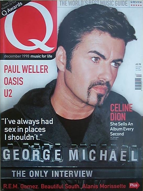 Q MAGAZINE MAY 1991 GEORGE MICHAEL R.E.M. OASIS PAUL WELLER