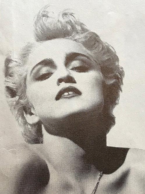 MADONNA Who's That Girl Record Mirror Magazine Advert UK 1987