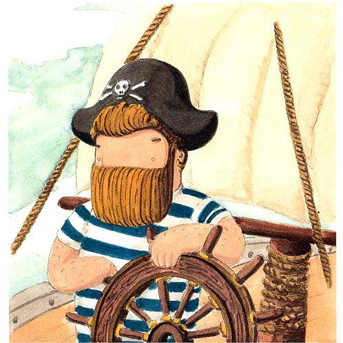 'Pirate' Beardy Bear by NAKI