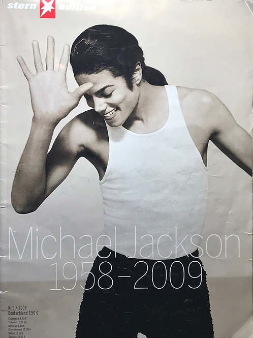 2009 German STERN Magazine featuring MICHAEL JACKSON July