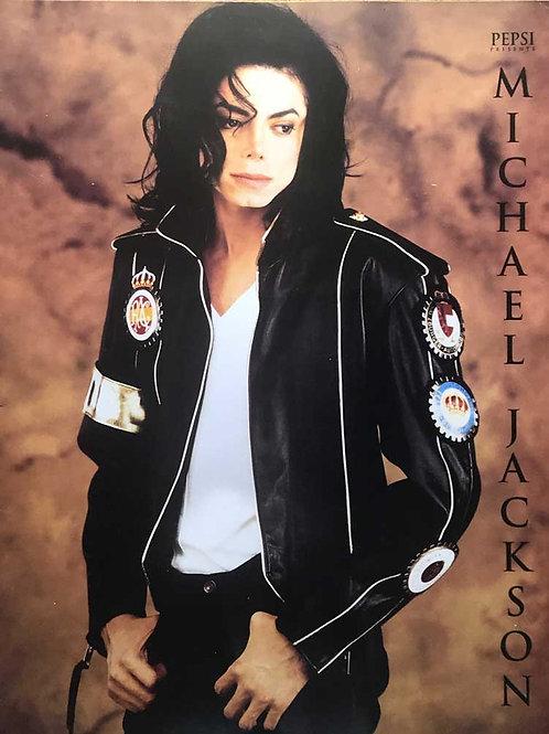 Front cover of Michael Jackson's Dangerous Tour souvenir programme