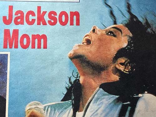 1990 National Enquirer Newspaper Article feat. MICHAEL JACKSON
