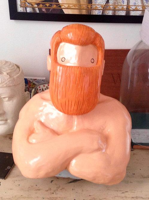 'Strongman' sculpture by NAKI