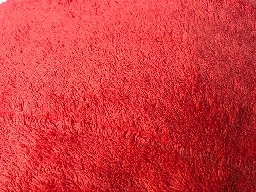 FRETTE Essentials Superb Luxury Wash Cloth 'Coral' Orange colour NEW 30x30cm