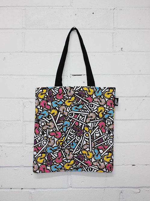 'Krispy Pins' Tote Bag by PINS