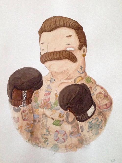 'El Boxeador' by NAKI (Boxer)