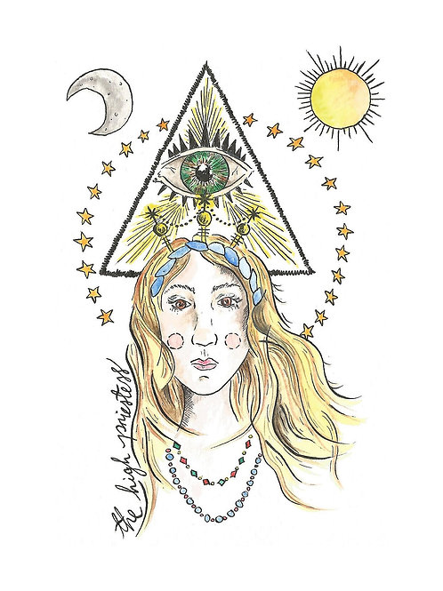 'The High Priestess' by Stacey Williamson-Michie