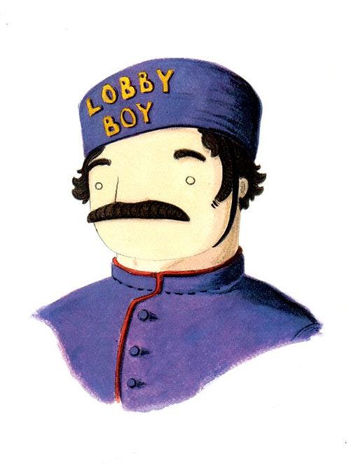 'Lobby Boy' by NAKI
