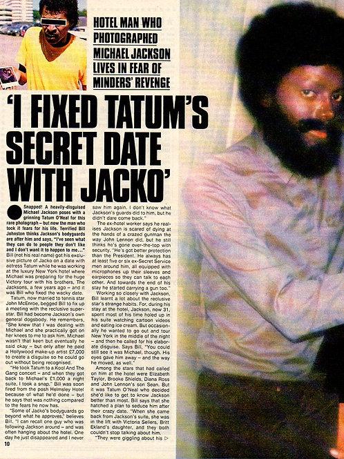 NEWS OF THE WORLD SunDay MICHAEL JACKSON TATUM O'NEAL