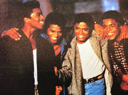 THE JACKSONS Record Mirror Magazine Article UK 1989