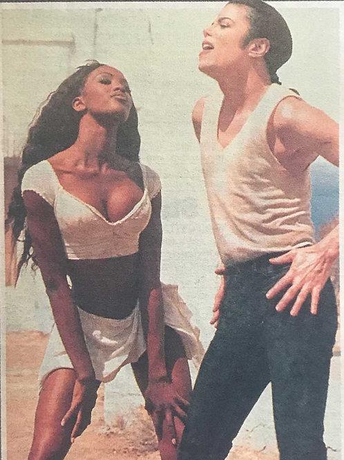 1992 Macho Jacko's Cupboard Love DAILY STAR MICHAEL JACKSON