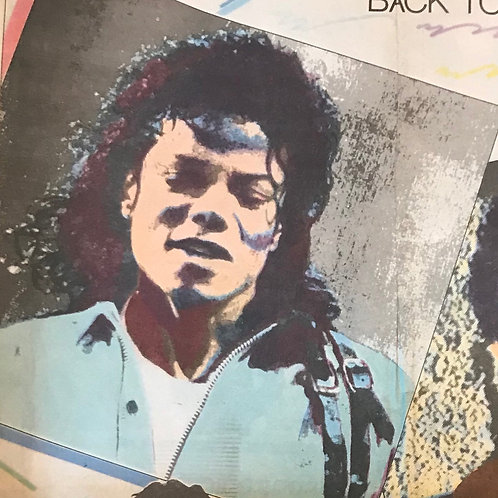 1988 May 'ROCK HEROES' STAR TRIBUNE NEWS FEATURE RARE COLLECTABLE MICHAEL JACKSO