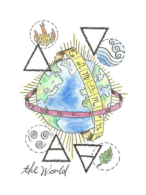 'The World' by Stacey Williamson-Michie