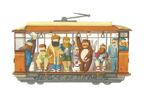 'Tram dei Desiderei' by NAKI