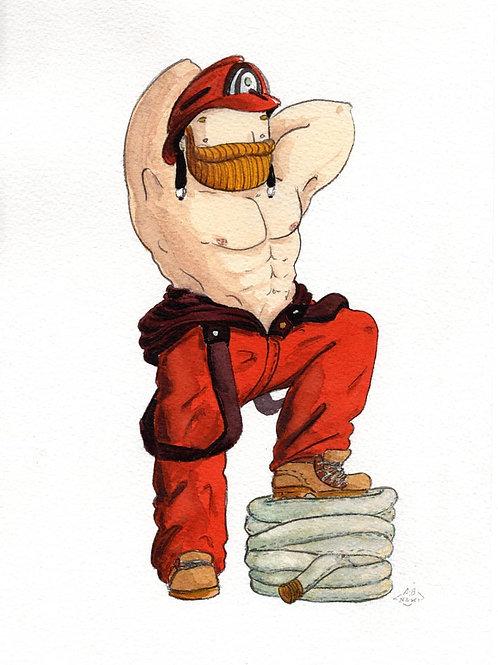 Pompiere (Fireman) by NAKI