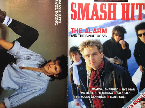 Smash Hits Magazine 29th January 1986 The Alarm