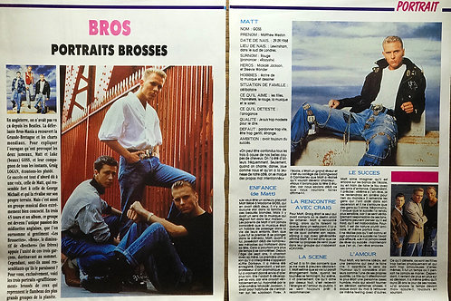 GRAFFITI Magazine Article featuring BROS - FRENCH