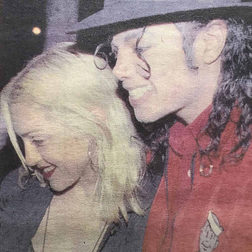 1991 Apr 11 DAILY MIRROR News Article feat. MICHAEL JACKSON MADONNA