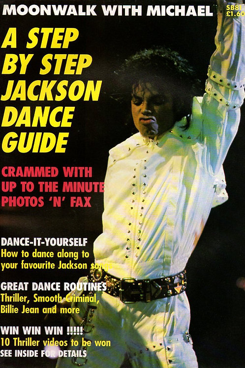 1989 STARBLITZ #81 MOONWALK WITH MICHAEL JACKSON Magazine Excellent Condition