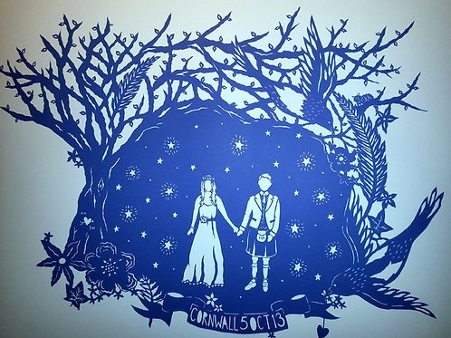 'Wedding Couple' by Stacey Williamson-Michie