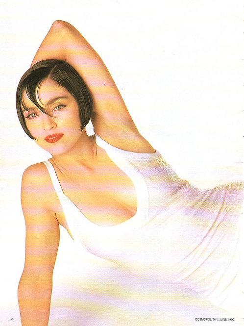 COSMOPOLITAN Magazine Article featuring MADONNA June 1990