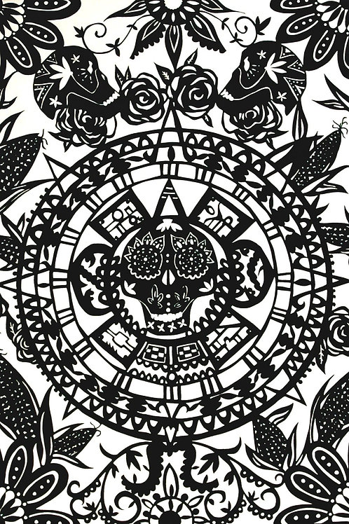 'Day of the Dead' by Stacey Williamson-Michie (print)