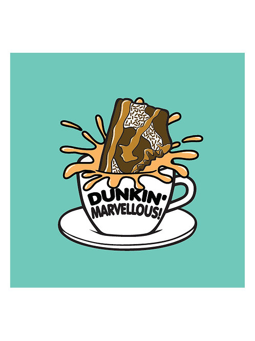 'Dunkin' Marvellous!' by PINS