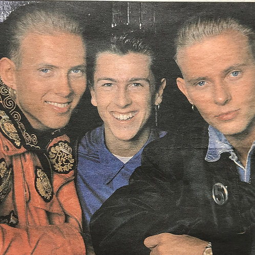 1989 February 'Craig's Brave Return' BROS Daily Mirror News Article