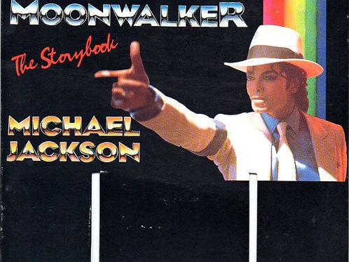 1988 Retail Display for MOONWALKER Storybook 1988 UK Michael Jackson