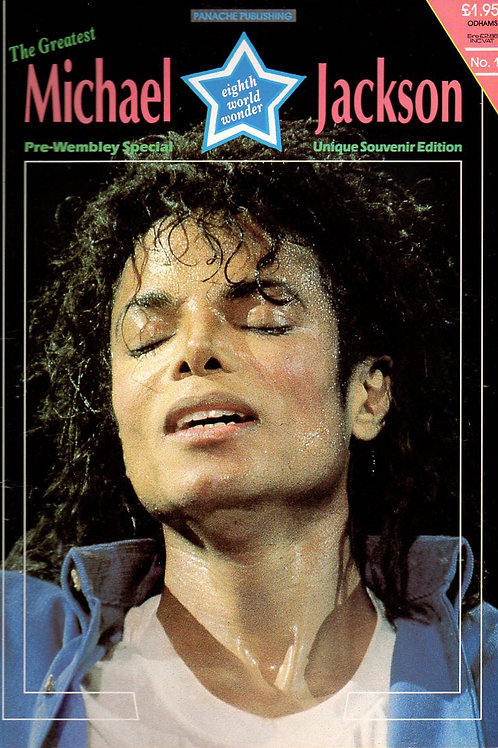 1988 Eighth World Wonder Souvenir Magazine MICHAEL JACKSON