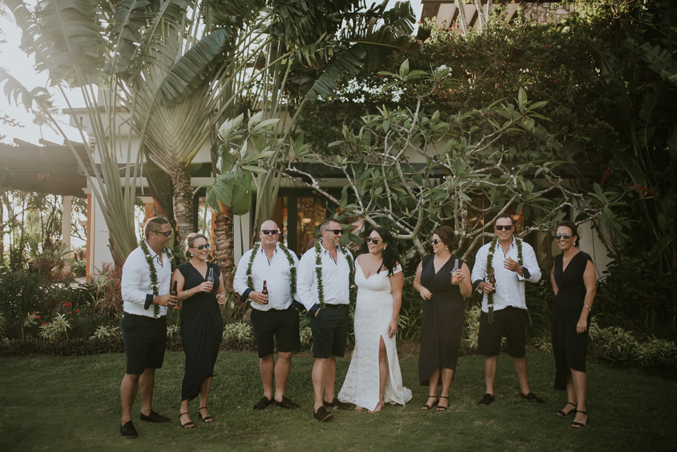 Warwick Fiji Wedding Photographer - Peac