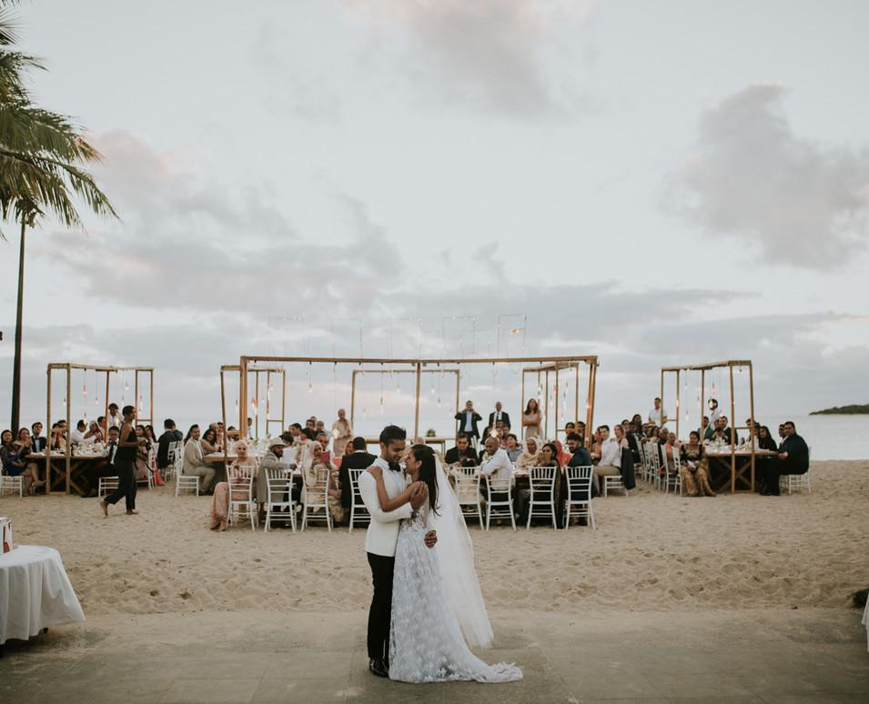 Intercontinental Fiji Wedding Photograph