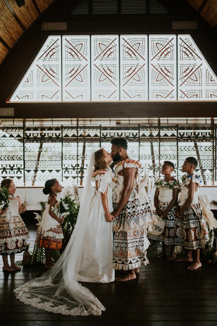Marriot Fiji Wedding Photographer - Peac